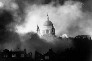 St Paul's in the Blitz