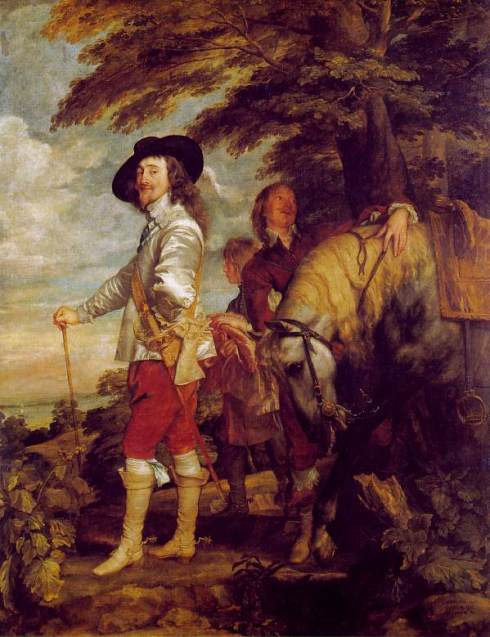 King Charles I by Van Dyck, 1635