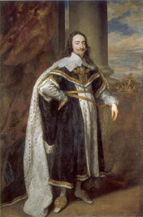 King Charles I by Van Dyck, 1636