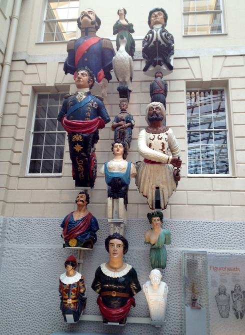 Figureheads from the National Maritime Museum